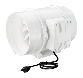 Tt Series Turbo Tube Mixed Flow In Line Fans Vents Us