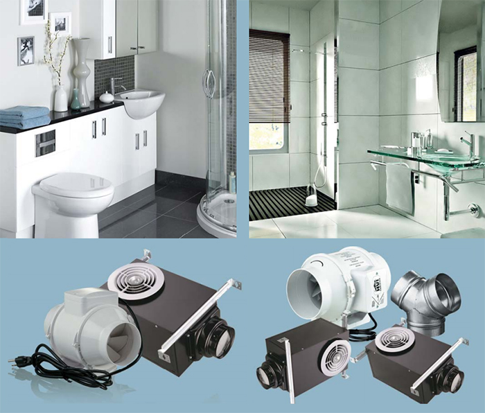 VENTS Bathroom Exhaust Kits – the ideal solution for simple exhaust ventilation without noise over your head